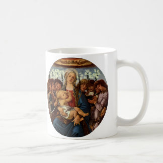 Madonna and Child with Eight Angels by Botticelli Coffee Mug