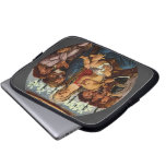 Madonna and Child with Eight Angels by Botticelli Laptop Sleeves