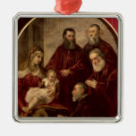 Madonna and child with four Statesmen Ornaments