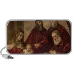 Madonna and child with four Statesmen Notebook Speaker