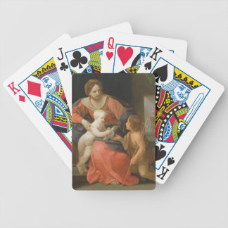 Madonna and Child with Saint John the Baptist Bicycle Playing Cards