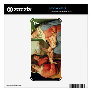 Madonna and Child with Saints 2 Decal For The iPhone 4S