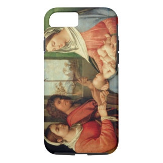 Madonna and Child with Saints 2 iPhone 8/7 Case