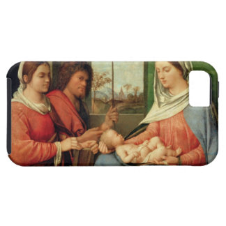 Madonna and Child with Saints 2 iPhone SE/5/5s Case