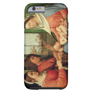 Madonna and Child with Saints 2 Tough iPhone 6 Case