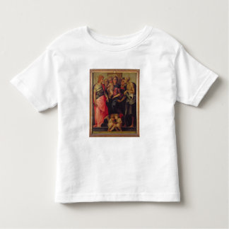 Madonna and Child with Saints, c.1518 (oil on pane Toddler T-shirt