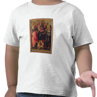 Madonna and Child with Saints, c.1518 (oil on pane Tee Shirt