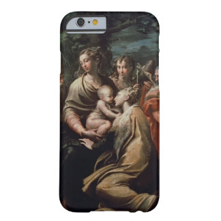 Madonna and Child with Saints, c.1529 (oil on pane Barely There iPhone 6 Case