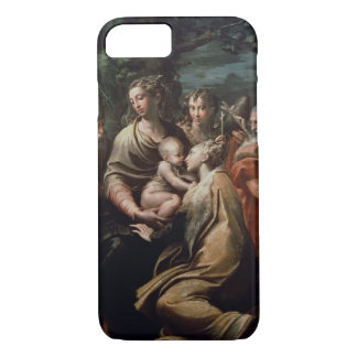 Madonna and Child with Saints, c.1529 (oil on pane iPhone 8/7 Case