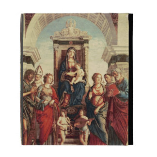 Madonna and Child with Saints iPad Folio Cases
