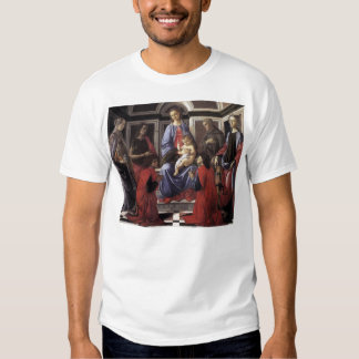 Madonna and Child with Six Saints T-Shirt