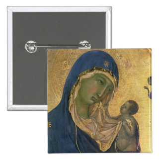 Madonna and Child with SS. Dominic and Aurea Pin