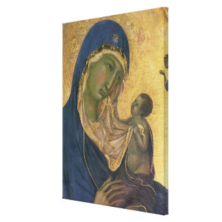 Madonna and Child with SS. Dominic and Aurea Canvas Print