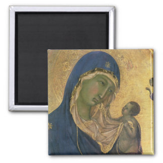 Madonna and Child with SS. Dominic and Aurea Magnet