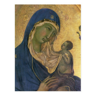 Madonna and Child with SS. Dominic and Aurea Postcard
