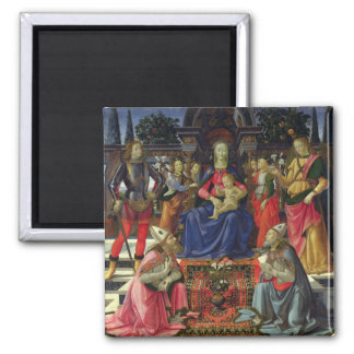 Madonna and Child with SS. Justus, Zenobius and th Magnet