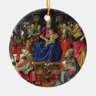 Madonna and Child with SS. Justus, Zenobius and th Christmas Ornament