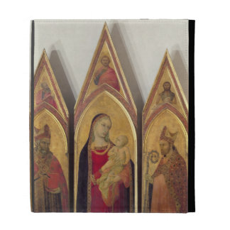 Madonna and Child with SS. Nicholas and Proculus, iPad Cases