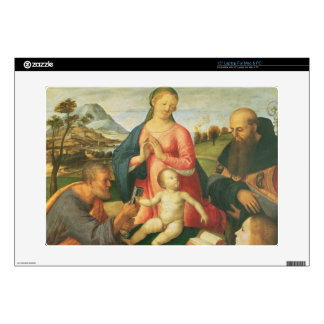 "Madonna and Child with SS. Peter, Jerome and Mary Decals For 15"" Laptops"