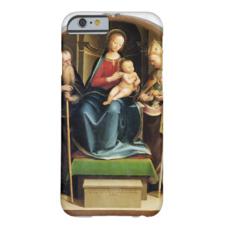 Madonna and Child with St. Anthony Abbot and St. N Barely There iPhone 6 Case