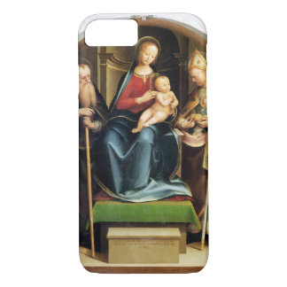Madonna and Child with St. Anthony Abbot and St. N iPhone 7 Case