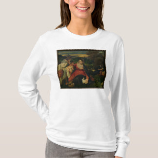 Madonna and Child with St. Catherine  c. 1530 T-Shirt