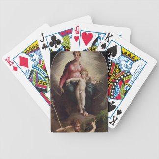 Madonna and Child with St. John and St. Jerome, 15 Bicycle Playing Cards