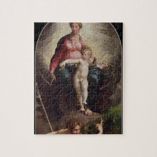 Madonna and Child with St. John and St. Jerome, 15 Jigsaw Puzzle