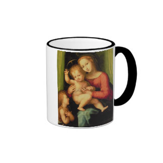 Madonna and Child with St. John Ringer Coffee Mug