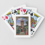 Madonna and Child with St. John the Baptist and Ma Bicycle Playing Cards