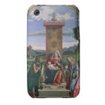 Madonna and Child with St. John the Baptist and Ma Case-Mate iPhone 3 Case