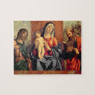 Madonna and Child with St. John the Baptist and St Jigsaw Puzzle