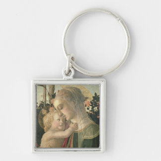 Madonna and Child with St. John the Baptist, detai Keychain