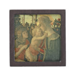 Madonna and Child with St. John the Baptist (oil o Keepsake Box