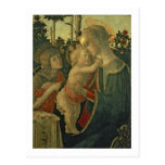 Madonna and Child with St. John the Baptist (oil o Postcard