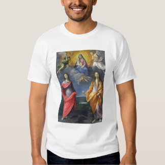 Madonna and Child with St. Lucy and Mary Magdalene T-shirt