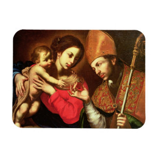 Madonna and Child with St. Zenobius Vinyl Magnets