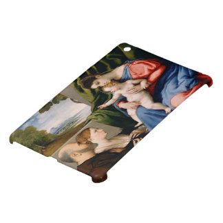 Madonna and Child with the Infant Saint John iPad Mini Cover