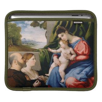 Madonna and Child with the Infant Saint John iPad Sleeve