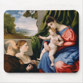 Madonna and Child with the Infant Saint John Mouse Pad