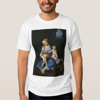 Madonna and Child with the Young Saint John T-Shirt