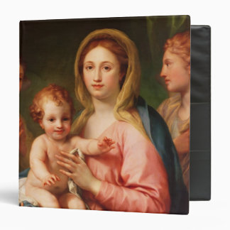 Madonna and Child with Two Angels, 1770-73 Binder