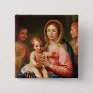 Madonna and Child with Two Angels, 1770-73 Button