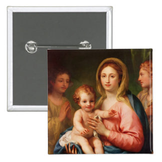 Madonna and Child with Two Angels, 1770-73 Buttons