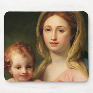 Madonna and Child with Two Angels, 1770-73 Mouse Pad