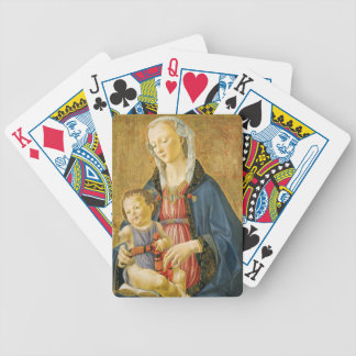 Madonna and Child with Two Donors, 1525-1530 Bicycle Playing Cards