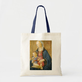 Madonna and Child with Two Donors, 1525-1530 Tote Bag