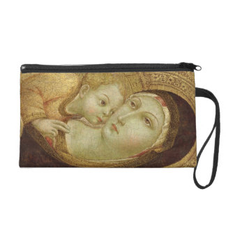 Madonna and Child Wristlet Purse