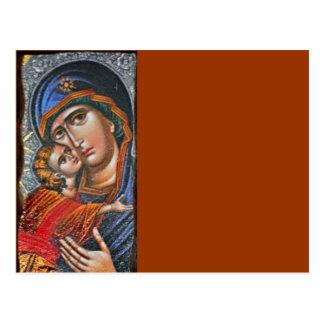 Madonna and Infant Jesus Postcard