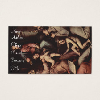 'Madonna, Angels and Saints' Business Card